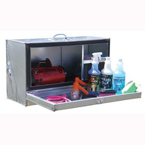 mini galvanized showcase show box